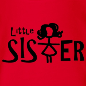 Little Sister - Baby Bio-Kurzarm-Body
