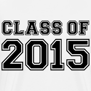 Class of 2015 Camisetas de manga larga - Camiseta premium hombre