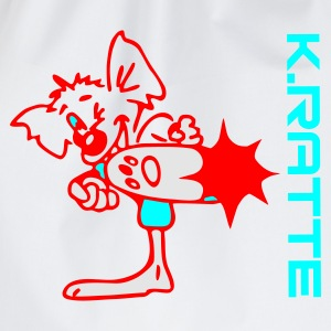 Karate-Ratte - Turnbeutel