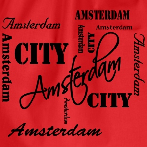 Amsterdam Long Sleeve Shirts - Drawstring Bag