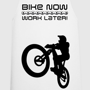 Bike now, work later! - Kochschürze