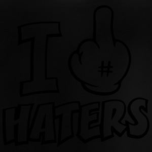 I fuck haters 1c Hoodies - Baby T-Shirt