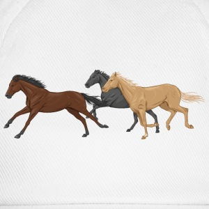 Three Horses Shirts - Baseball Cap
