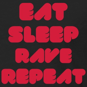 EAT SLEEP RAVE REPEAT Jacken & Westen - Männer Premium Langarmshirt
