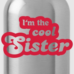 I'm the cool sister T-shirts - Drikkeflaske