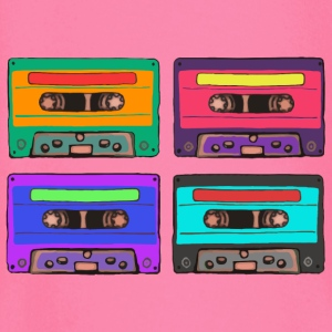 Colorful Cassettes square Bags & Backpacks - Baby Long Sleeve T-Shirt