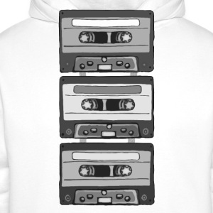 Colorless Cassettes T-Shirts - Men's Premium Hoodie