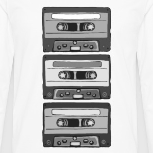 Colorless Cassettes T-Shirts - Men's Premium Longsleeve Shirt