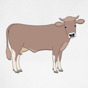 brown cattle S Tröjor - Basebollkeps