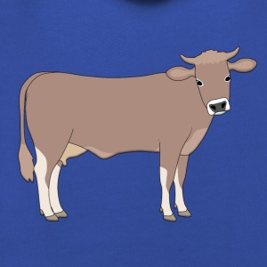 brown cattle E T-Shirts - Kids' Premium Hoodie