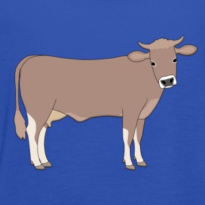 brown cattle E T-Shirts - Women's Tank Top by Bella