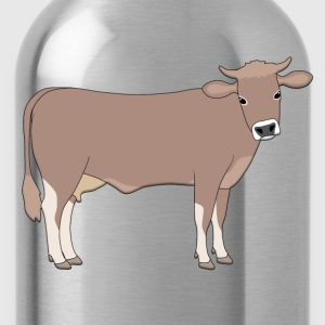 brown cattle NL T-shirts - Drinkfles