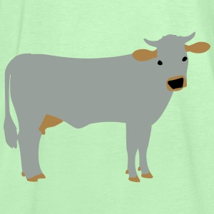 brown cattle vektor P Torby i plecaki - Tank top damski Bella