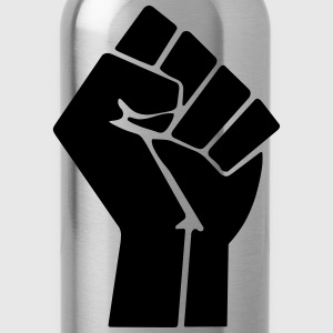 Raised Fist T-Shirts - Water Bottle