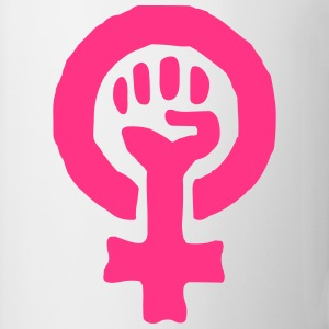 Feminism Power Symbol T-Shirts - Mug