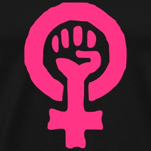 Feminism Power Symbol Hoodies & Sweatshirts - Men's Premium T-Shirt