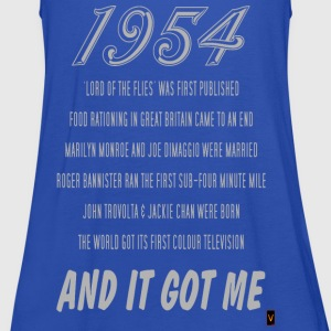 1954 (60th Birthday) - Women's Tank Top by Bella