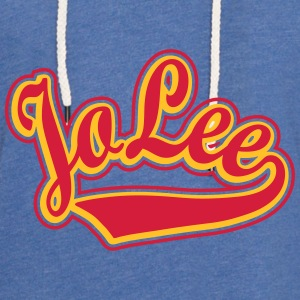 Jolee - T-shirt Personalised with your name Shirts - Light Unisex Sweatshirt Hoodie