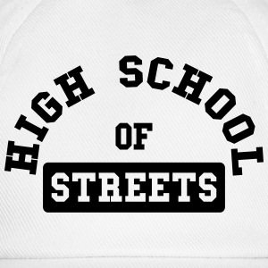 High School of Streets Shirts - Baseball Cap