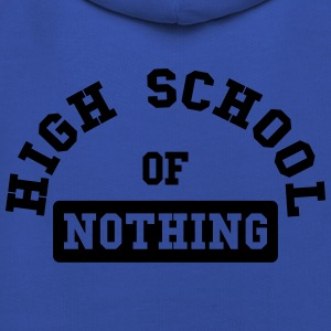 High School of Nothing Magliette - Felpa con cappuccio Premium per bambini