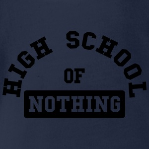 High School of Nothing Tee shirts - Body bébé bio manches courtes