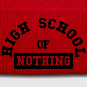 High School of Nothing Magliette - Cappellino invernale