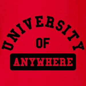 university of anywhere Tee shirts - Body bébé bio manches courtes