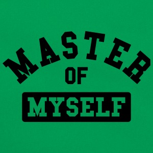 master of myself Camisetas - Bandolera retro