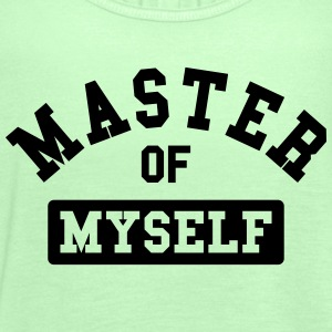 master of myself Magliette - Top da donna della marca Bella