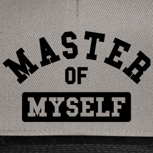 master of myself Magliette - Snapback Cap