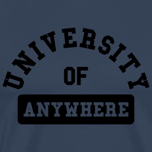 university of anywhere Tee shirts manches longues - T-shirt Premium Homme