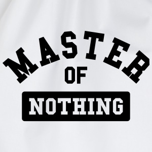 master of nothing Camisetas - Mochila saco