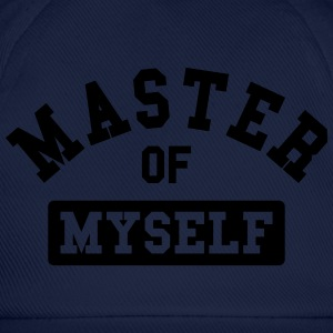 master of myself Camisetas - Gorra béisbol