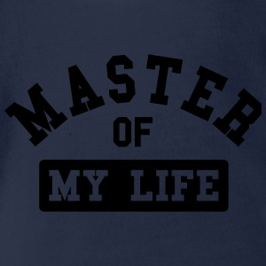 Master of my life Shirts - Organic Short-sleeved Baby Bodysuit