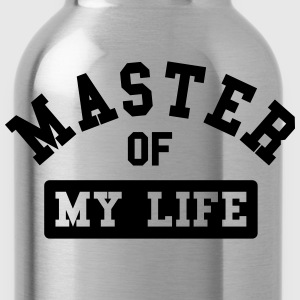 Master of my life Magliette - Borraccia