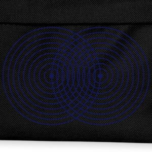 Vesica Piscis symbol Sacred Geometry Mathematics T-Shirts - Kids' Backpack