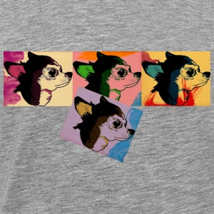 chihuahua arts Long Sleeve Shirts - Men's Premium T-Shirt