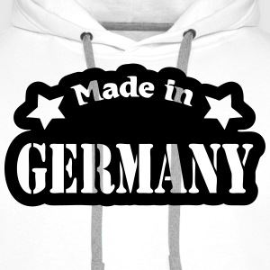 Made in Germany Langarmshirts - Männer Premium Hoodie