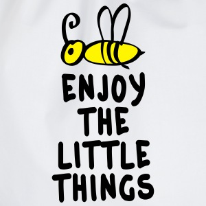 enjoy the little things 2c T-Shirts - Turnbeutel
