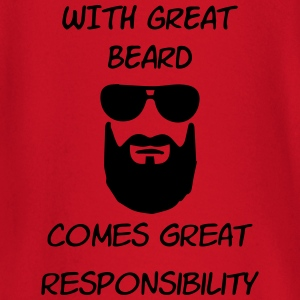 great beard great responsibility - Baby Long Sleeve T-Shirt