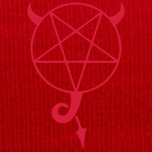 satanic pentagram Hoodies & Sweatshirts - Winter Hat