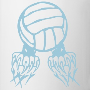 Volleyball Ball-Logo Klaue Pfote 2802 T-Shirts - Tasse