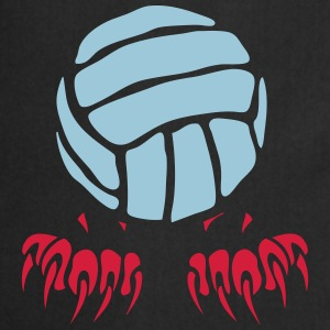 Volleyball Ball-Logo Klaue Pfote 2802 T-Shirts - Kochschürze