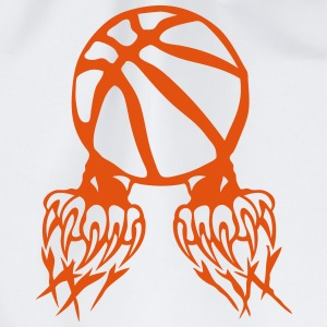 Basketball Ball Klaue Pfote logo 2802 T-Shirts - Turnbeutel