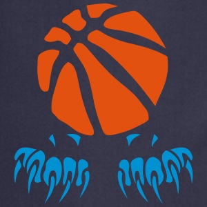 Basketball Ball Klaue Pfote logo 2802 T-Shirts - Kochschürze
