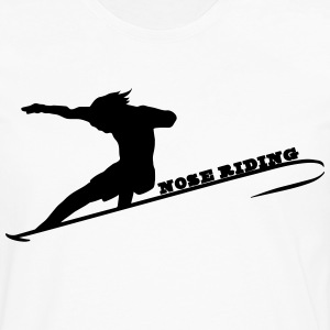 Nose Riding Tee shirts - T-shirt manches longues Premium Homme