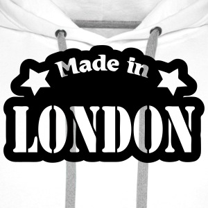 Made in London T-Shirts - Men's Premium Hoodie