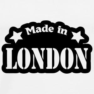 Made in London Bottles & Mugs - Men's Premium T-Shirt