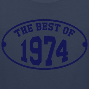 The Best of 1974 T-shirts - Herre Premium tanktop