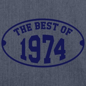 The Best of 1974 Tee shirts - Sac bandoulière 100 % recyclé